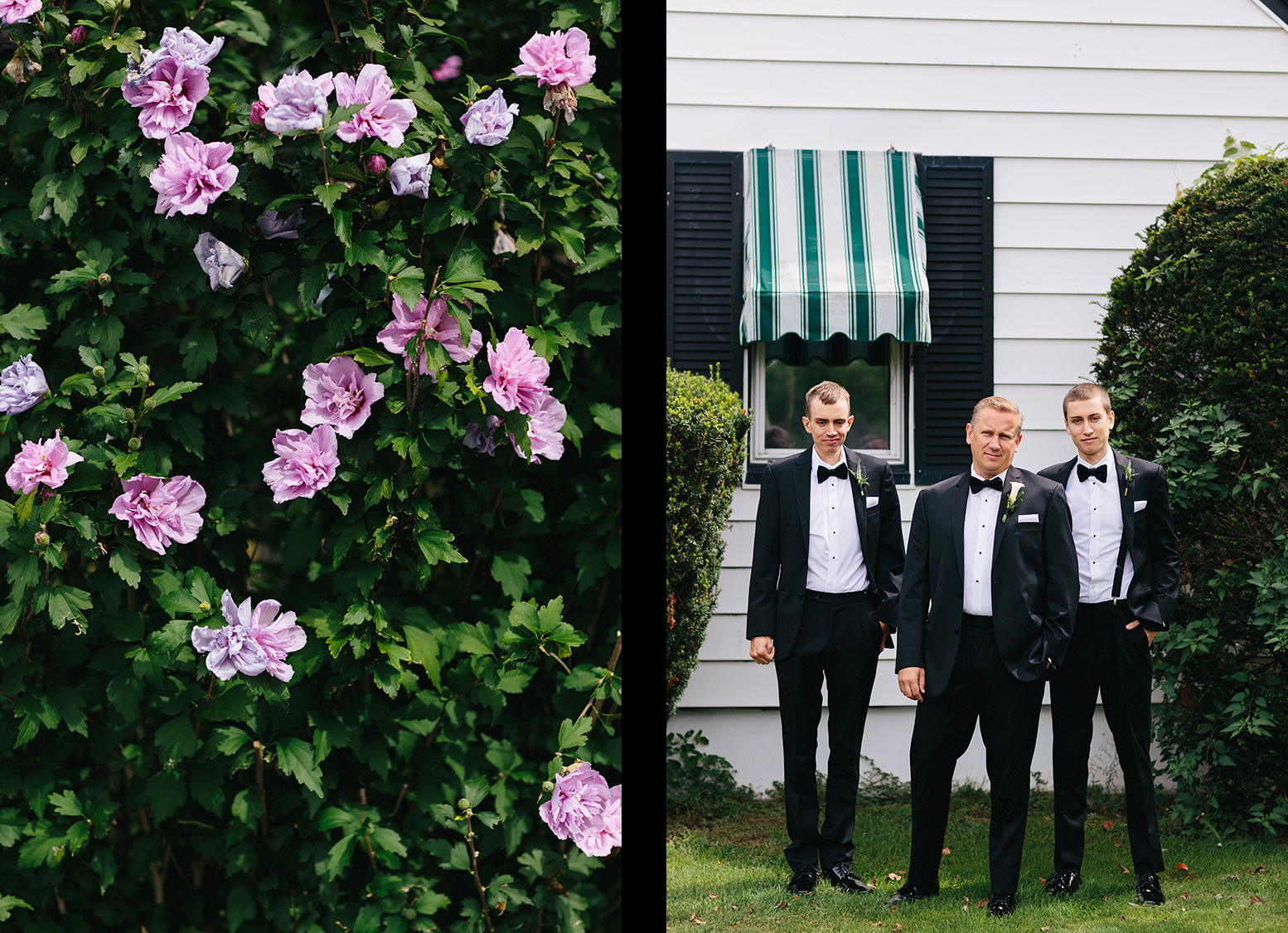 4-Niagara-on-the-Lake-Wedding-Photographers-Best-in-Toronto-Port-Dalhousie-curling-club-venue-mature-couple-wedding-inspiration-airbnb-groom-getting-ready-with-sons-groomsmen.jpg