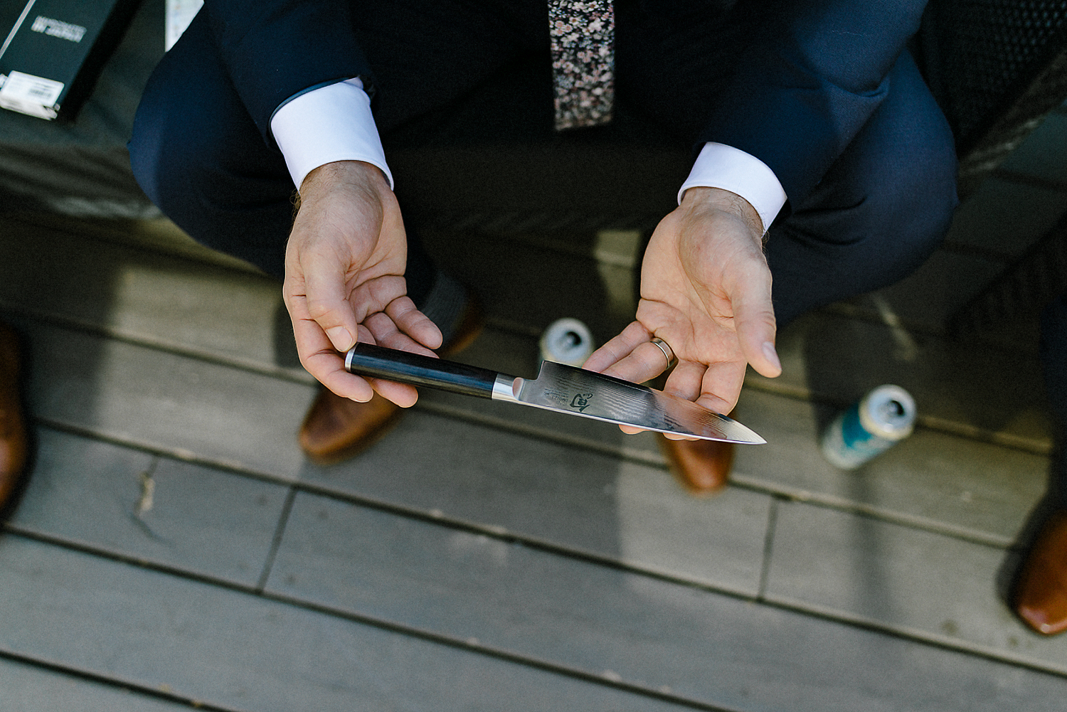 Toronto-Wedding-Photographers-3B-Photography-Airship37-Wedding-Photos-Documentary-Photojournalistic-Wedding-Photography-Venue-Details-Candid-groomsmen-Japanese-Knives.jpg
