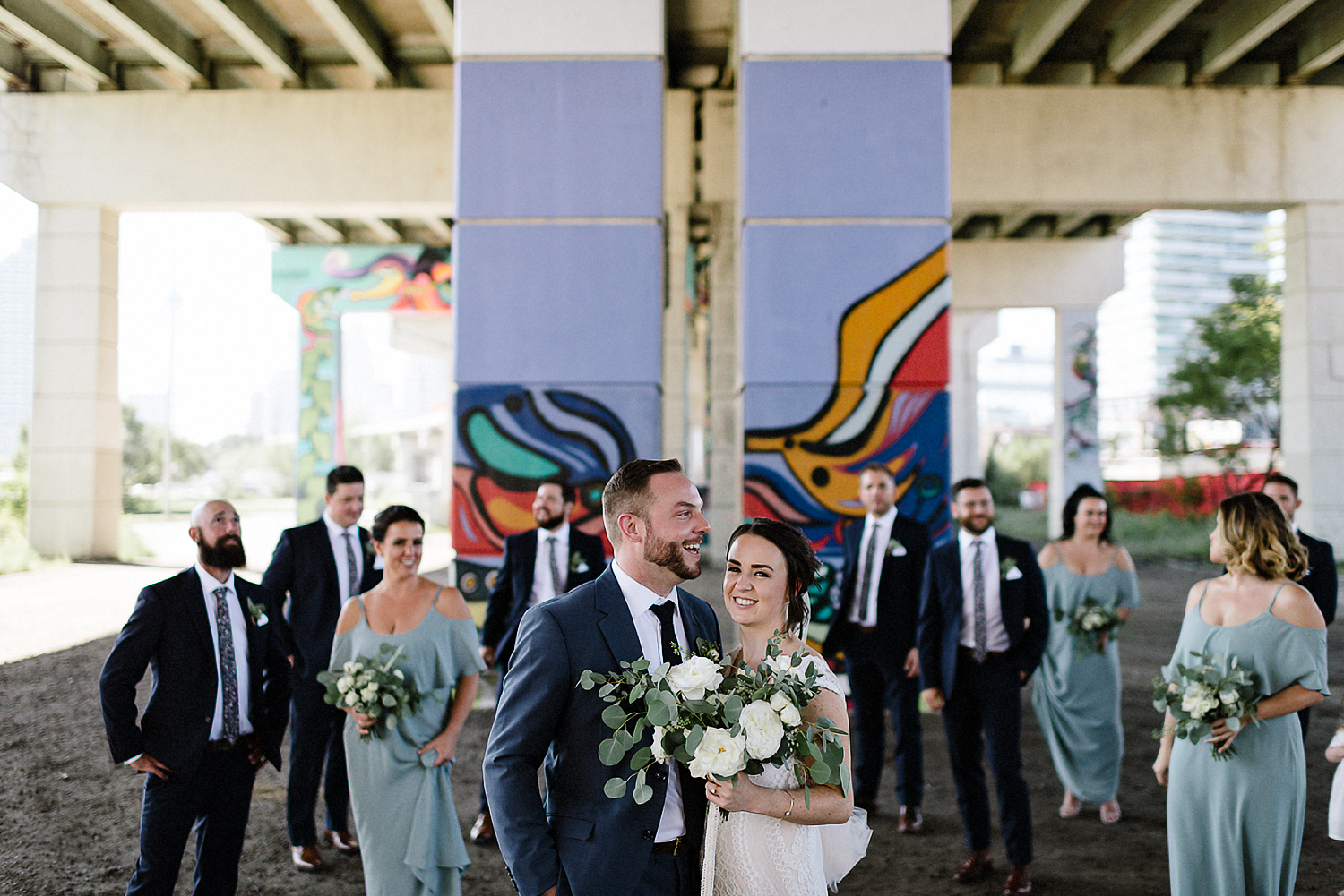 Best-Wedding-Photographers-Toronto-3B-photography-Photojournalistic-documentary-wedding-photography-alternative-cinematic-mood-Bridal-Party-under-the-underpass.jpg