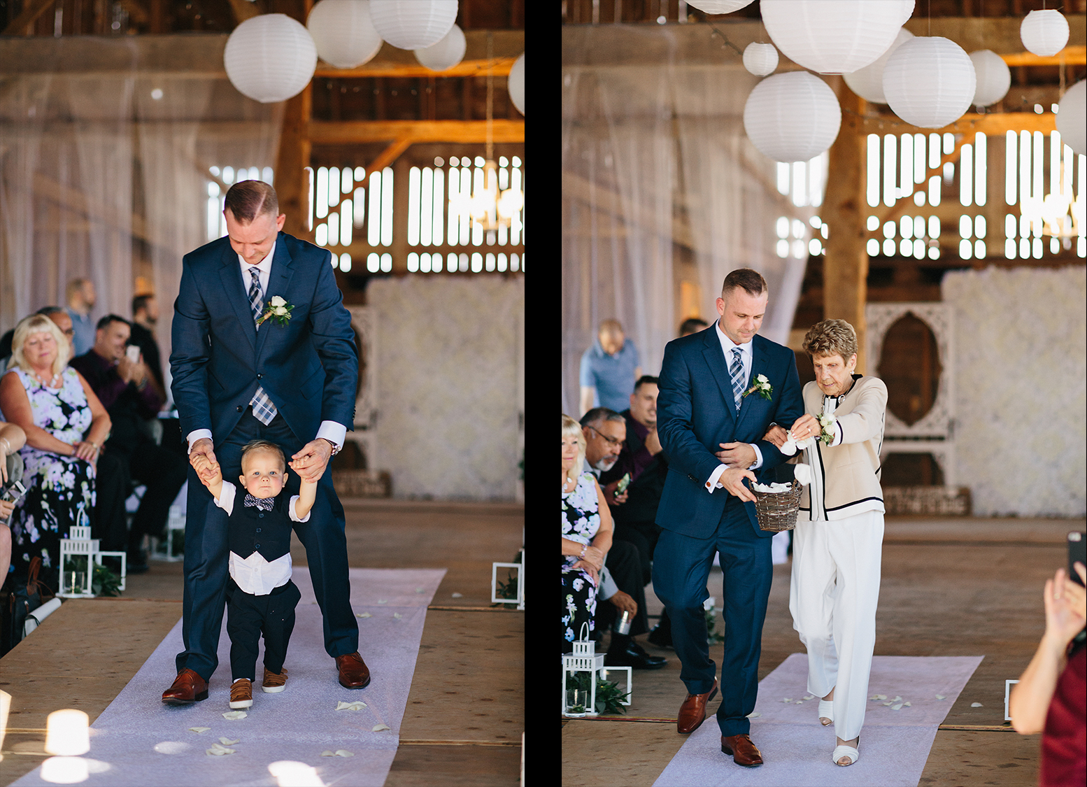 Dowswell-Barn-Wedding-Bride-and-Groom-Walking-Down-Aisle.jpg