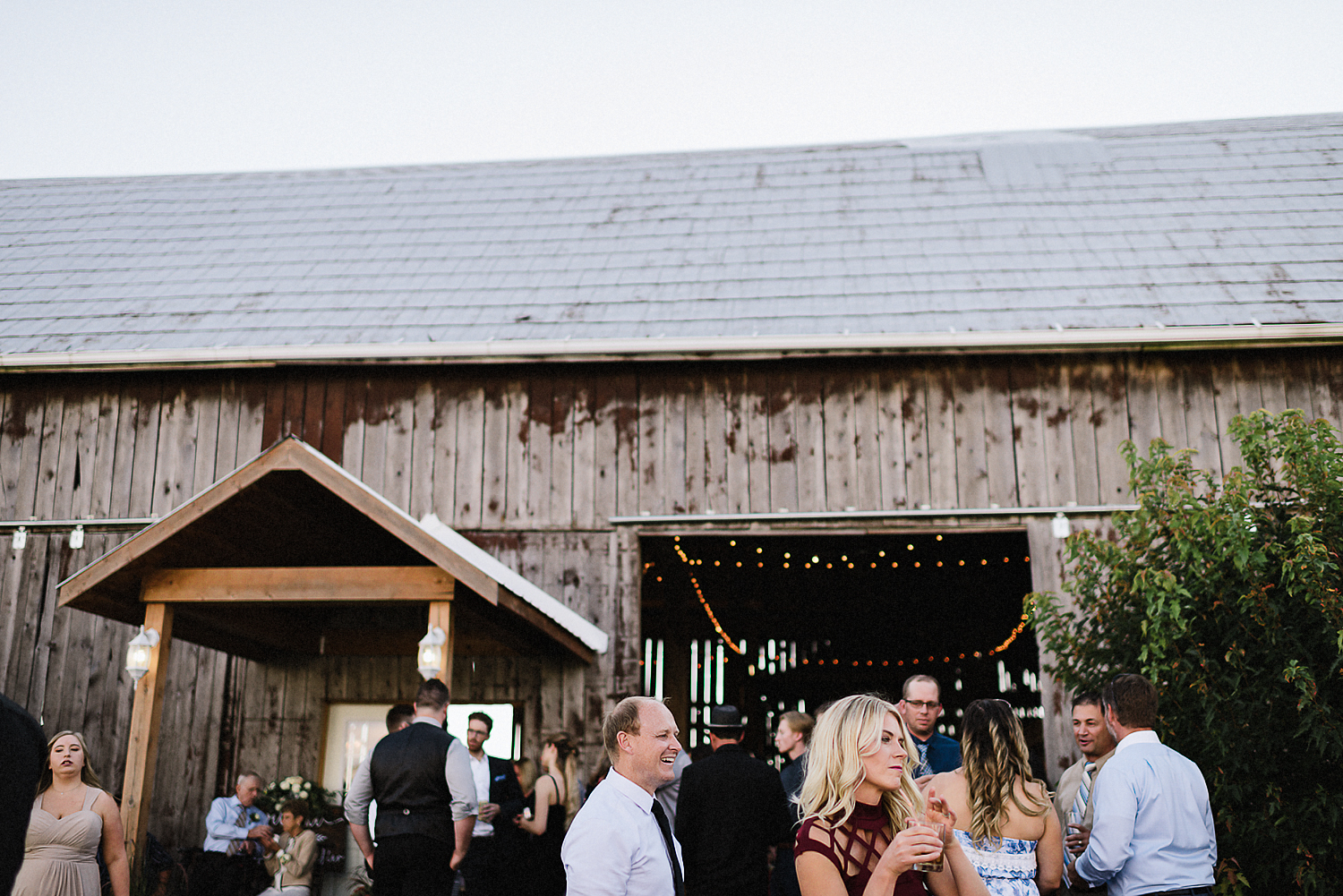 dowswell-barn-wedding-beaverton-best-wedding-photographers-toronto-moody-style-candid-photojounalistic-approach-intimate-vintage-farm-wedding-Farm-wedding-bridal-party-groomsmen-candid-guests-cocktail-hour.jpg