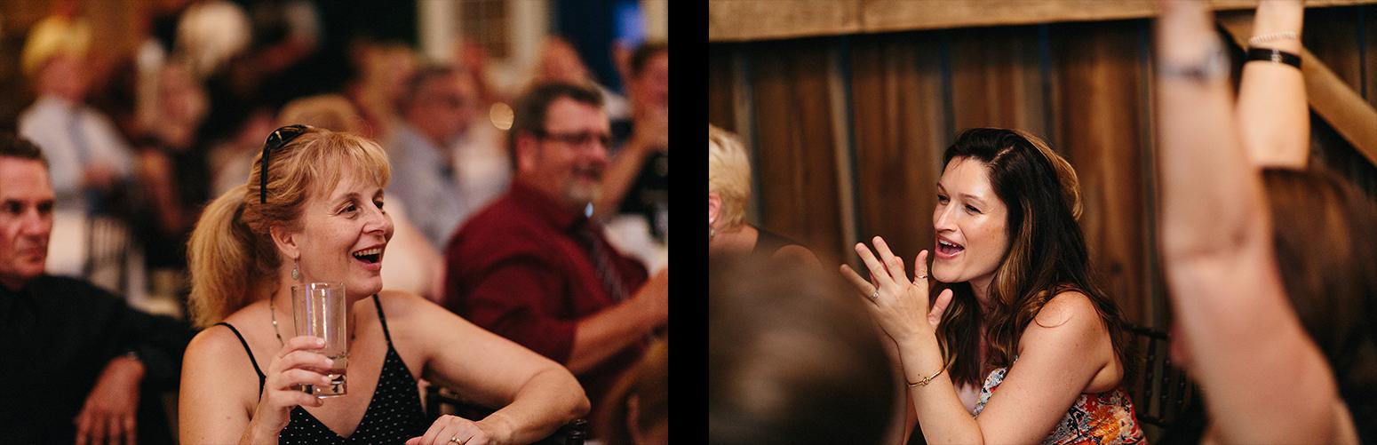 4-Documentary-Wedding-Photographers-in-Toronto-Candid-Natural-Dowswell-Barn-Wedding-Rustic-GTA-Muskoka-Farm-romantic-barn-golden-light-speeches-groomsman-guests-cheering.jpg