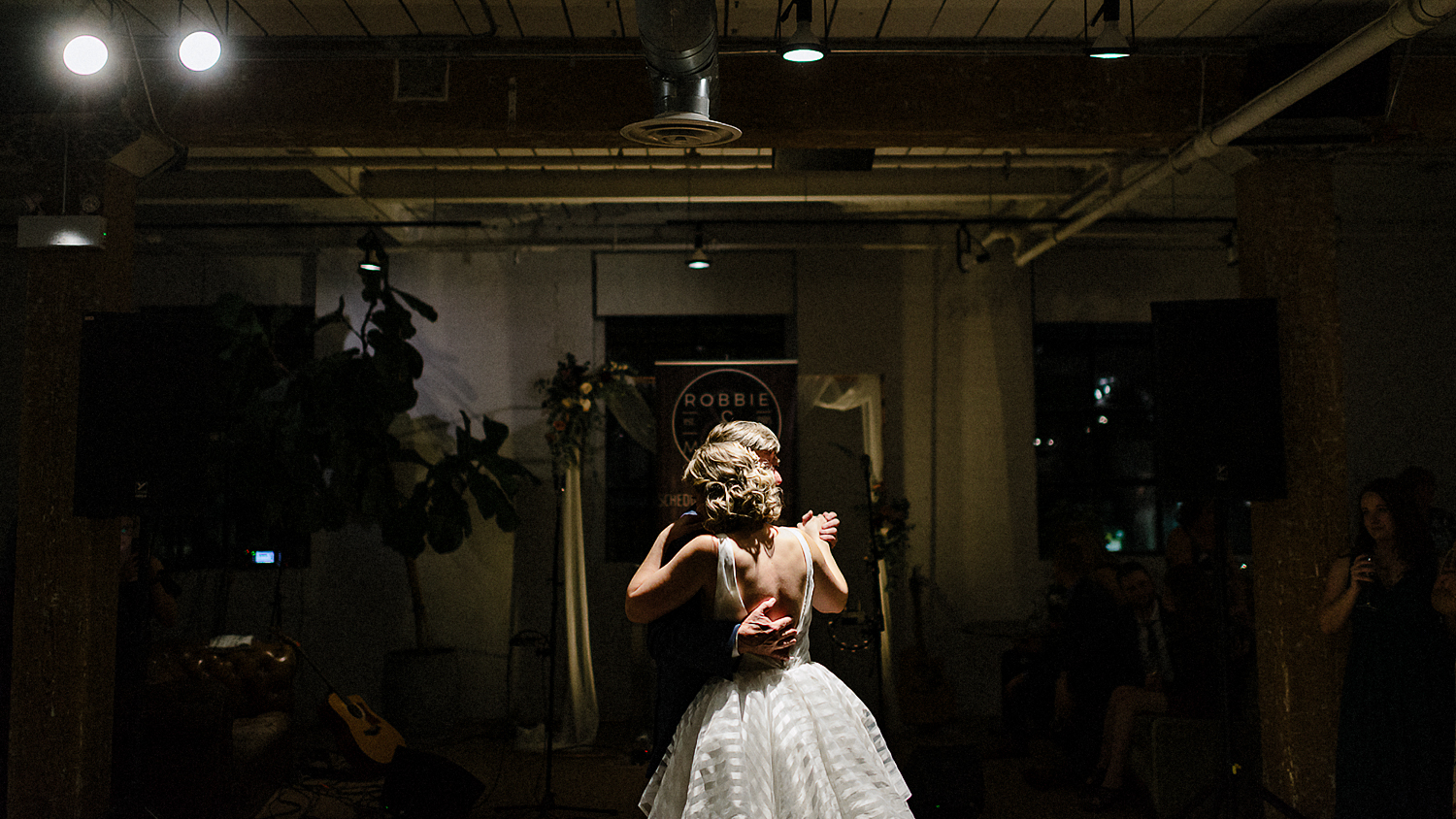 East-Room-Wedding-Queen-Street-East-Toronto-Intimate-Industrial-Wedding-Venue-Reception-Details-Grand-Electric-Food-Truck-Catering-candid-moments-wedding-photography-candid-laughs-14.jpg
