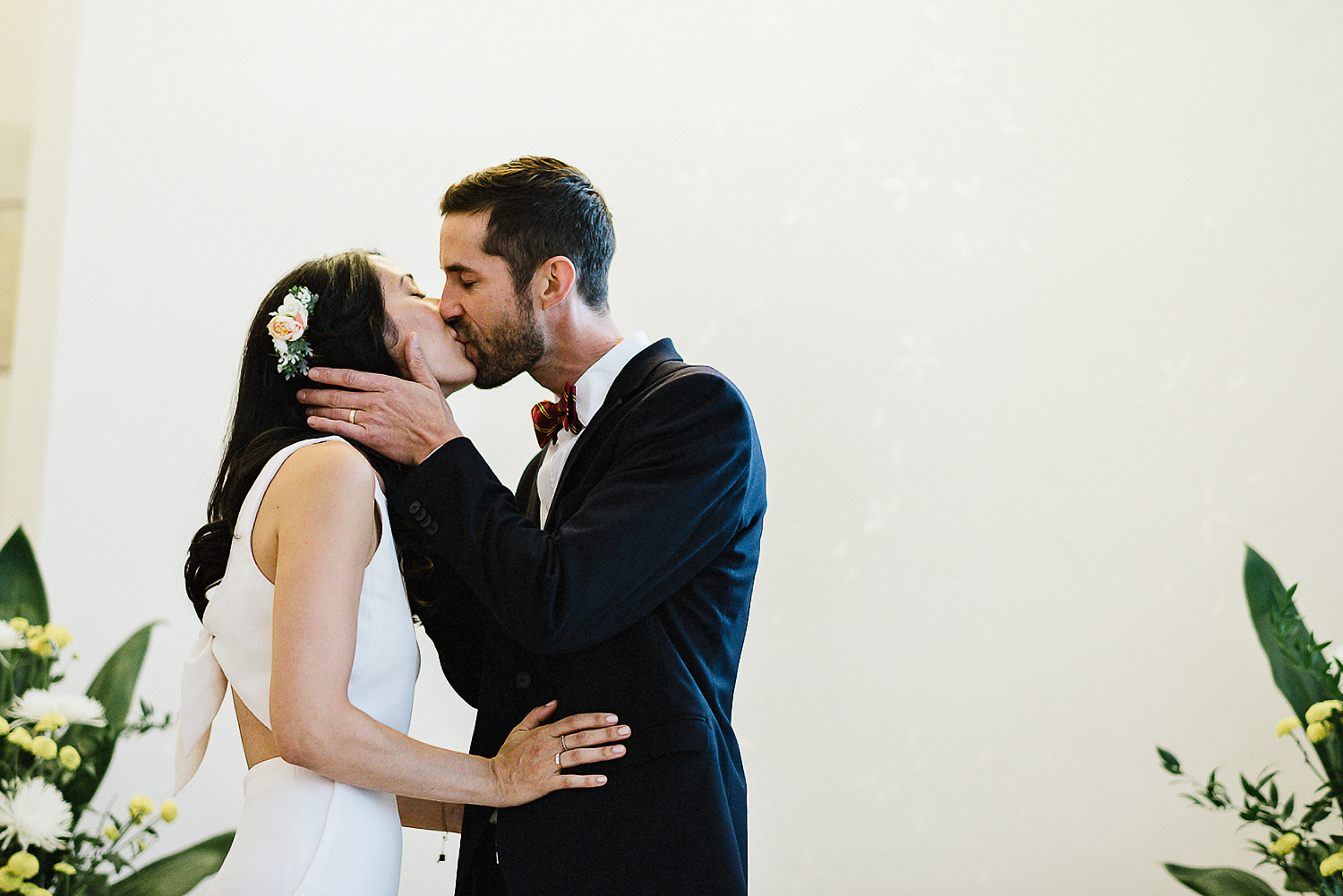 47-535-Best-City-Hall-Elopement-Photography-Toronto-Ontario-Canada-Urban-Summer-Wedding-Vintage-Bride-and-Groom-Candid-Genuine-Moments-Documentary-Photojournalistic-Style-First-Kiss.jpg