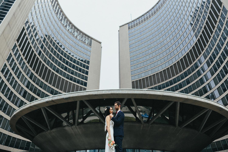 57-380-Toronto City Hall Elopement Alernative Bride and Groom Editorial Style29.JPG