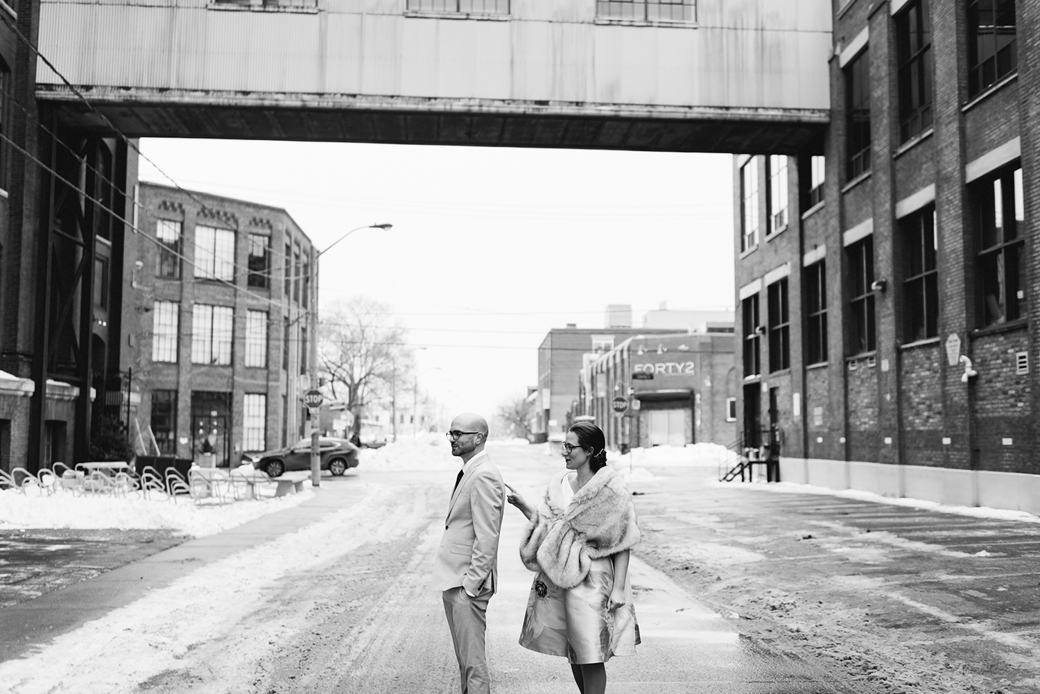 5-first-look-liberty-village-real-wedding-toronto-wedding-photographer-analog-film-candid-documentary-moments-old-toronto-emotional-bw.jpg