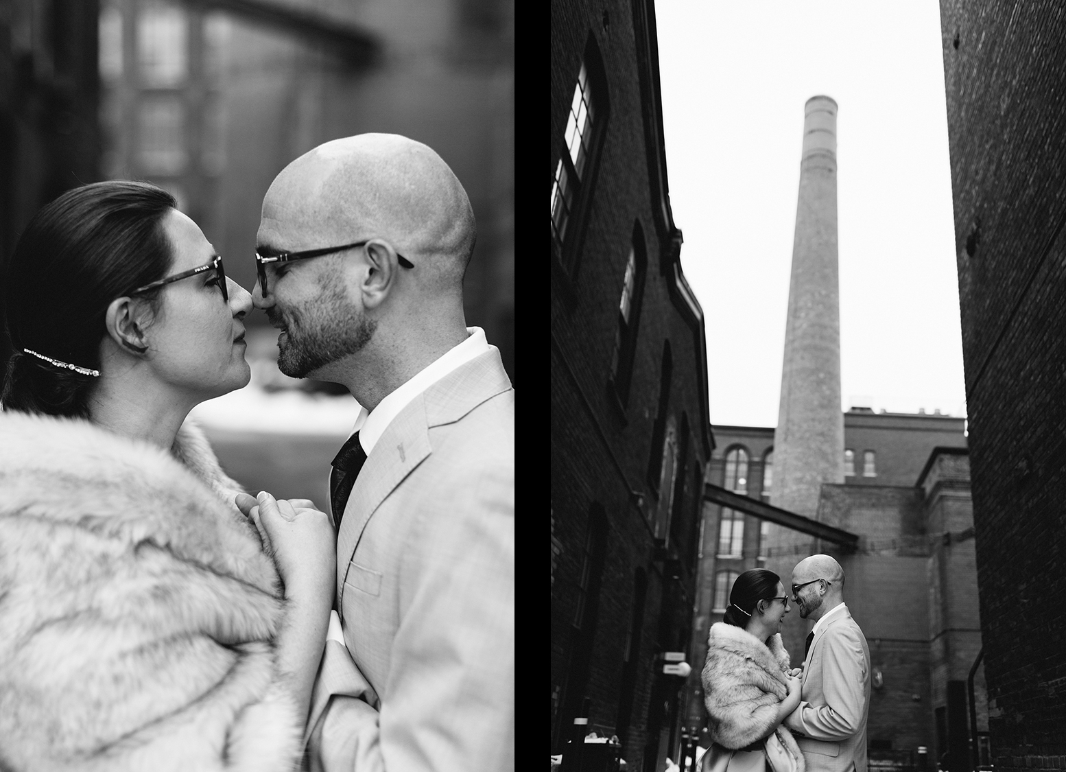 15-couples-portraits-liberty-village-real-wedding-toronto-wedding-photographer-alternative-unique-couple-analog-film-candid-documentary-moments-old-toronto-15.jpg