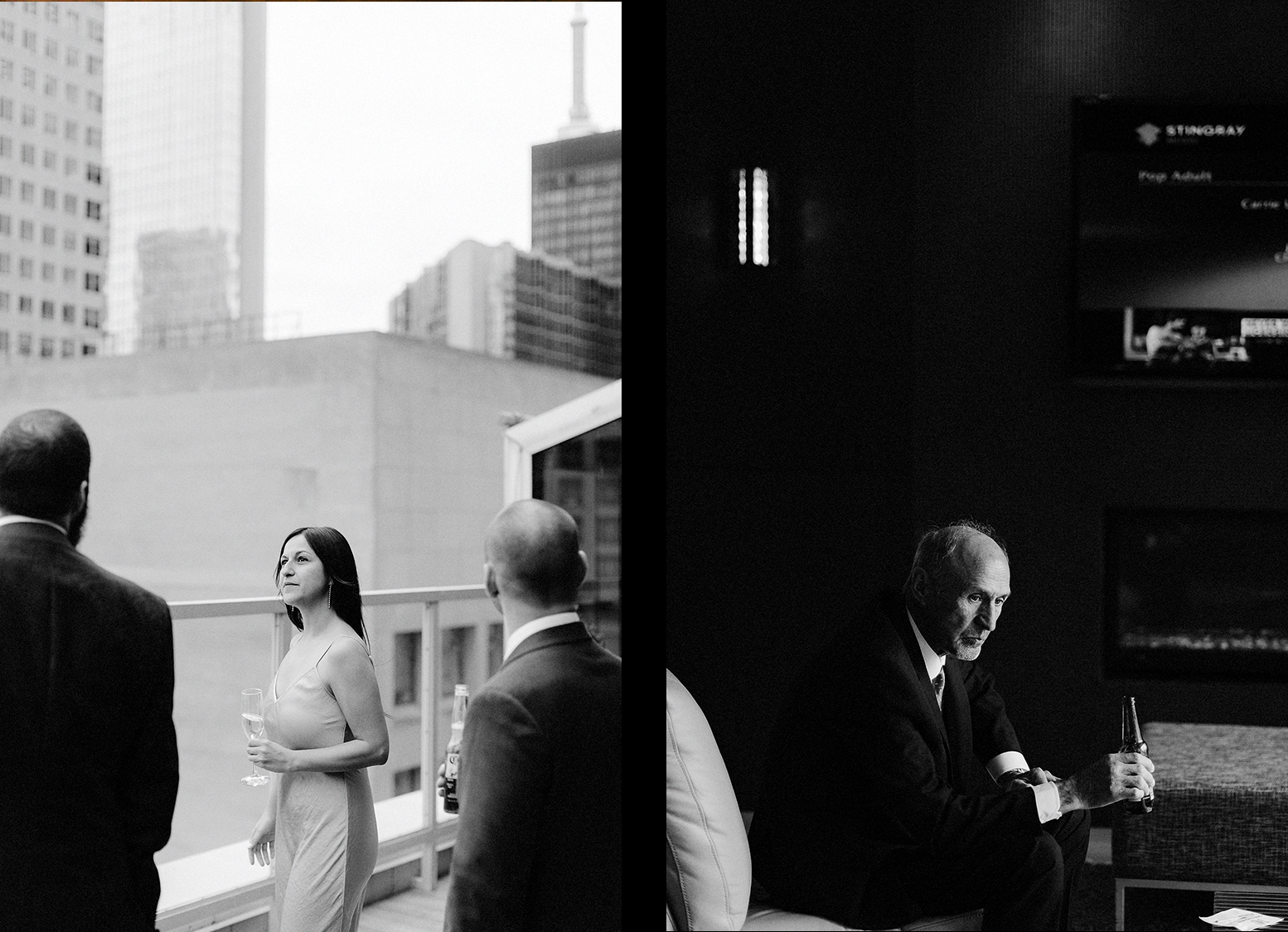 26-One-King-West-INtimate-Wedding-Ceremony-BW-Film-ANalog-Best-Wedding-Photographers-Toronto-Details-Flowers-Grain-Father-of-the-bride-spread.jpg