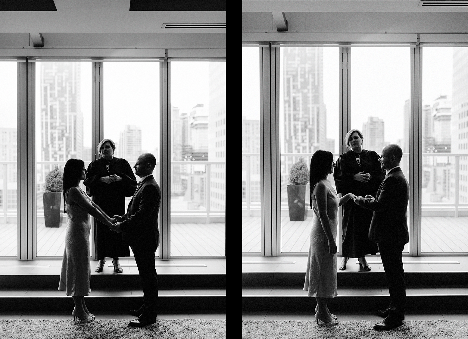 36-One-King-West-INtimate-Wedding-Ceremony-BW-Film-ANalog-Best-Wedding-Photographers-Toronto-spread.jpg