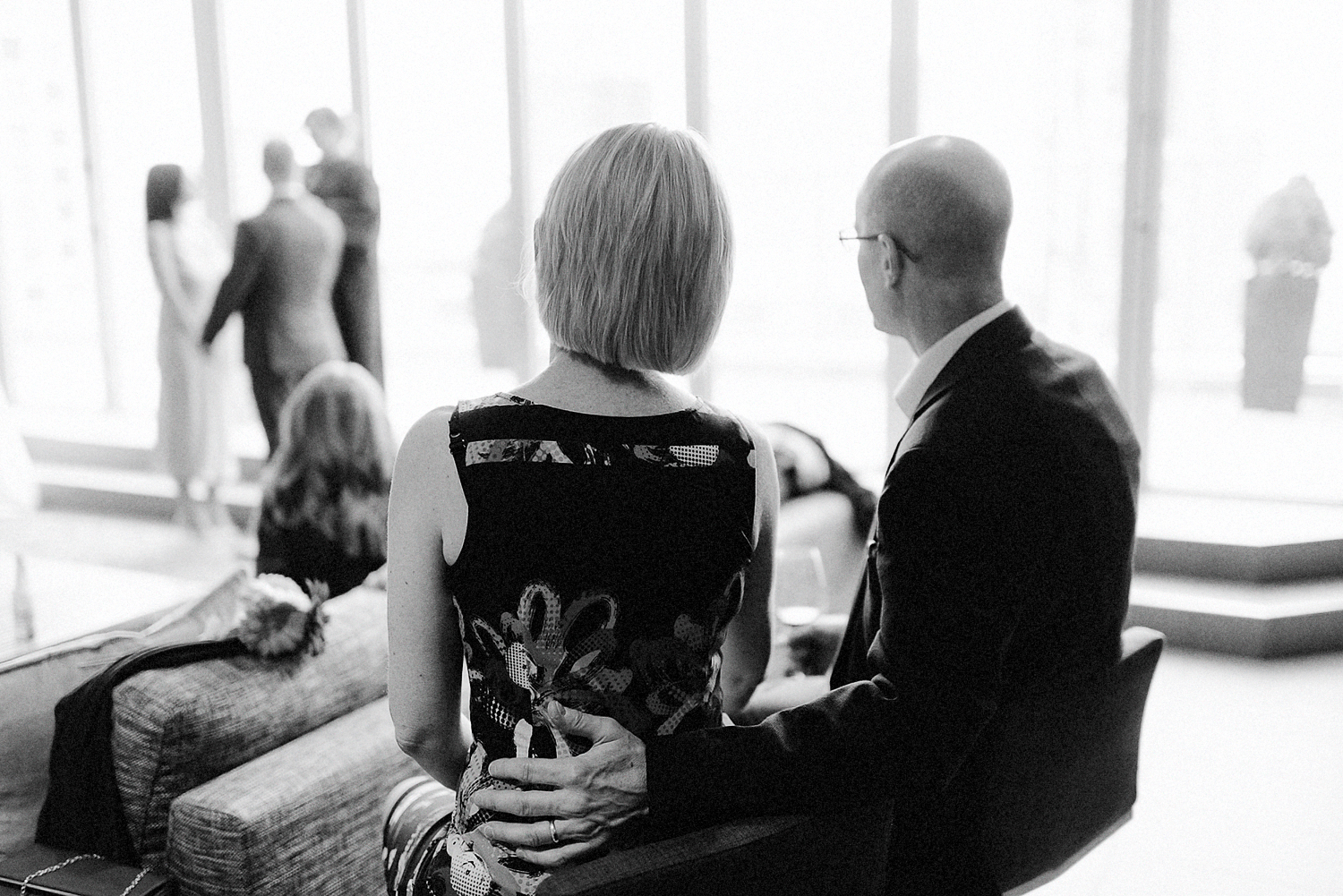 40-One-King-West-INtimate-Wedding-Ceremony-BW-Film-ANalog-Best-Wedding-Photographers-Toronto-Details-Flowers-Grain-candid-ceremony-emotions.jpg