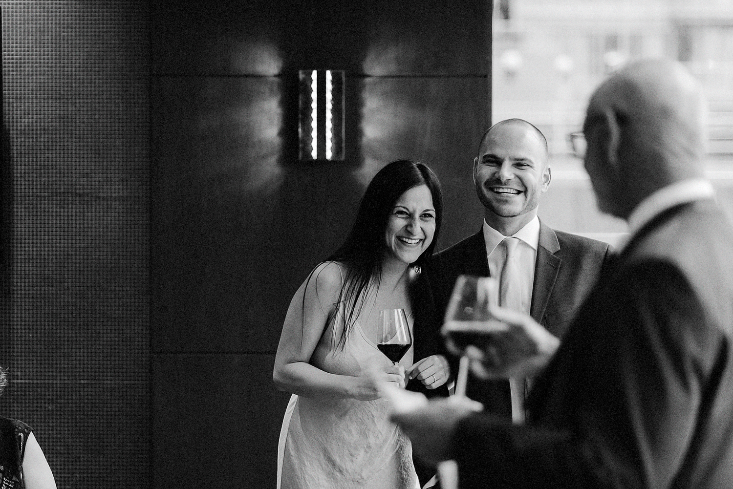 53-One-King-West-INtimate-Wedding-Ceremony-BW-Film-ANalog-Best-Wedding-Photographers-Toronto-First-Kiss-Grain-Ring-Exchange-3b-Photo-wedding-toronto.jpg