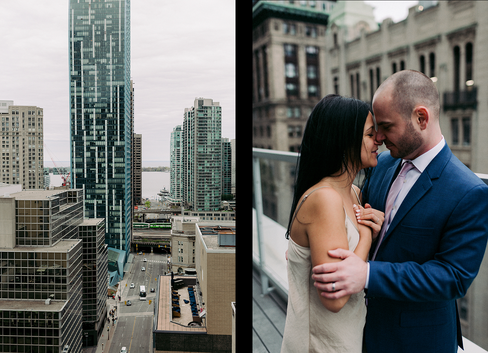 57-Best-Wedding-Photographers-in-Toronto-3B-Photography-Editorial-Fine-Art-Analog-Wedding-Photography-Toronto-Skyline-Rooftop-Views-spread.jpg