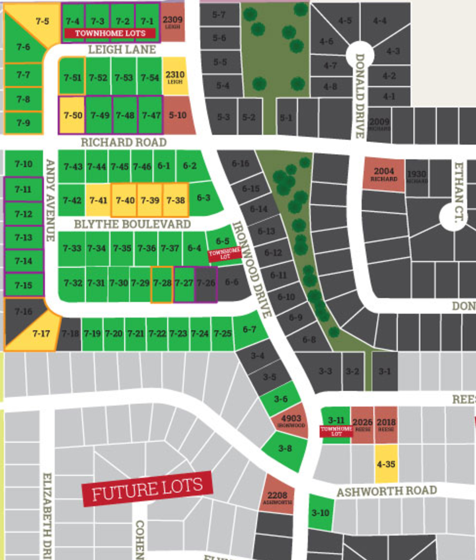 Available Lots in Green. Call (319) 266-6609 Today!