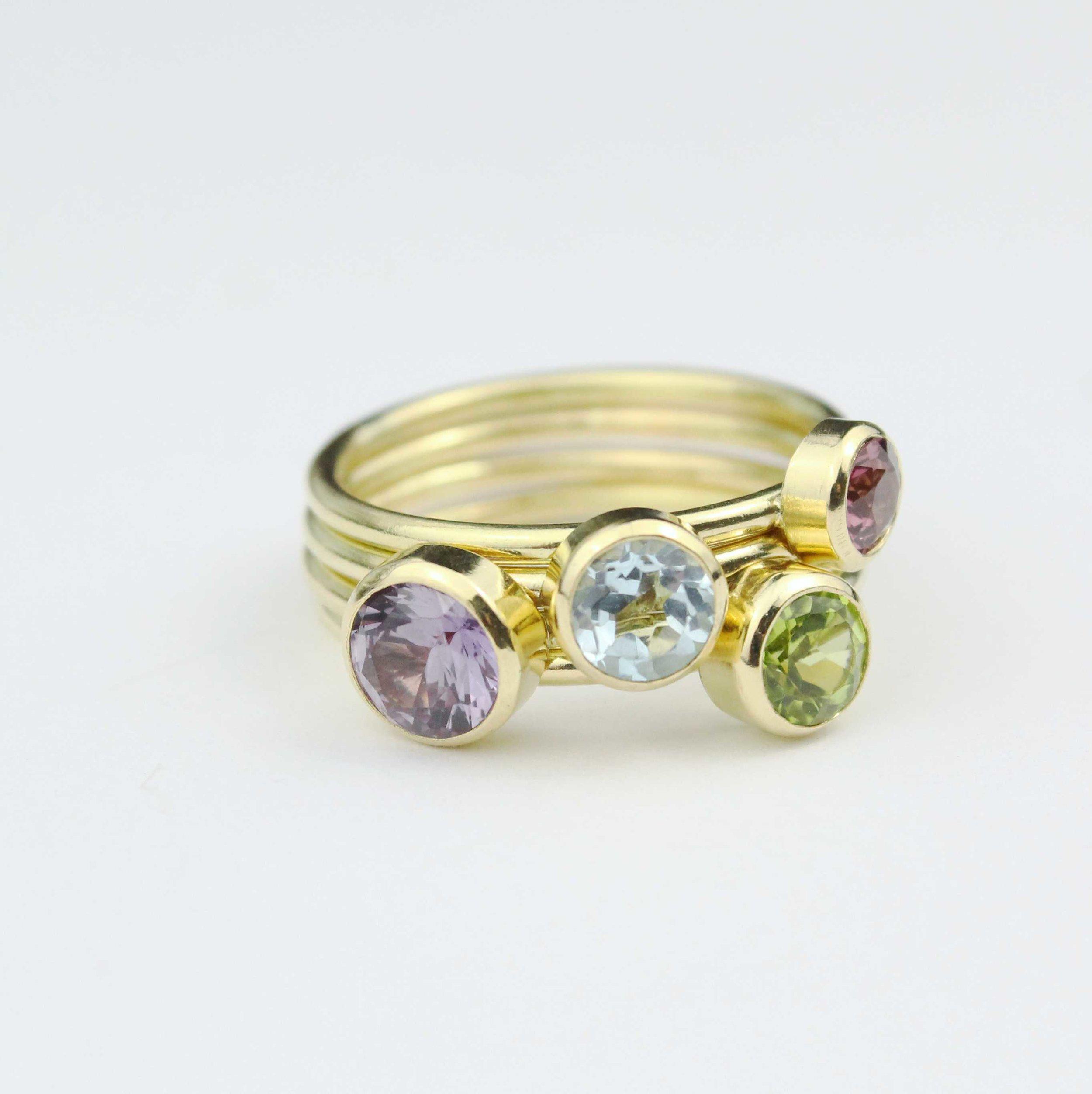 Birthstone Rings and Bespoke -