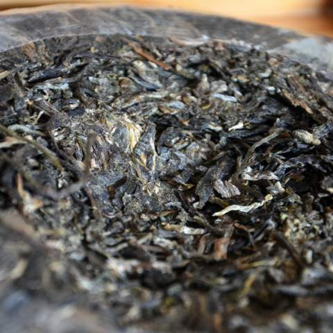 Baba raw Pu-erh tea from Jinggu (3).JPG