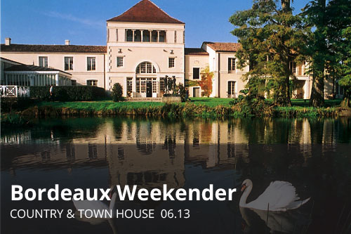 Bordeaux Weekender | Country & Town House