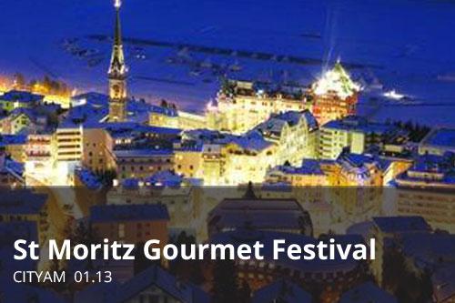 St Moritz Gourmet Festival | CityAM