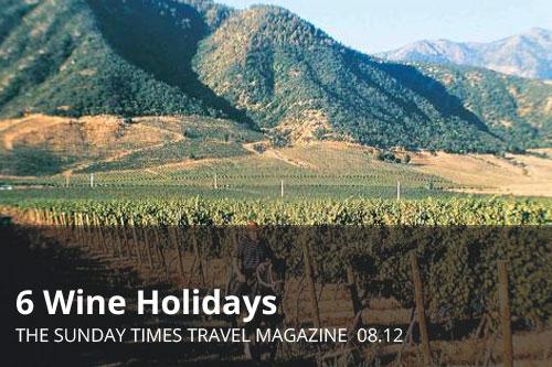 6 Wine Holidays  | The Sunday Times Travel Magazine