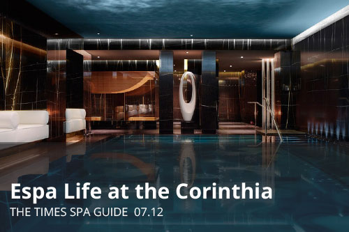 Espa Life at the Corinthia | The Times Spa Guide