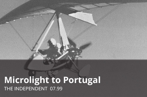 Microlight to Portugal | The Independent