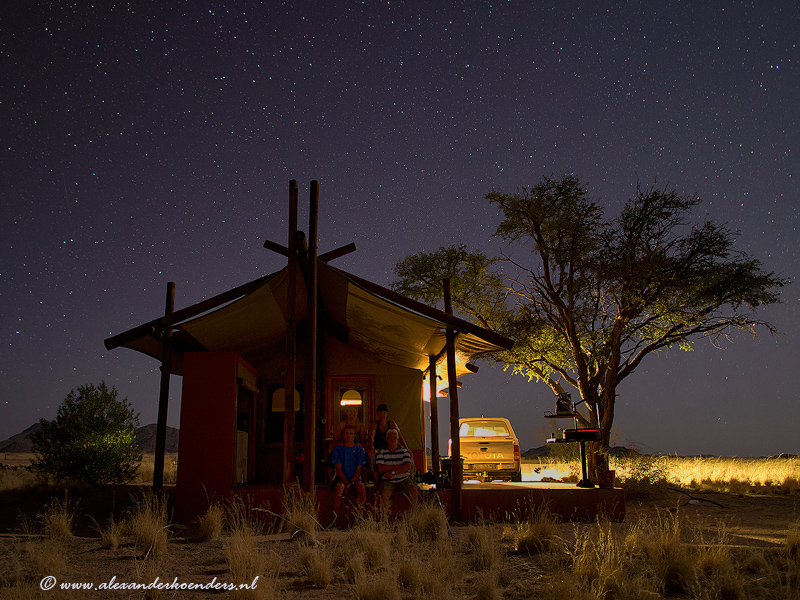 Base camp Sossusvlei Namibie