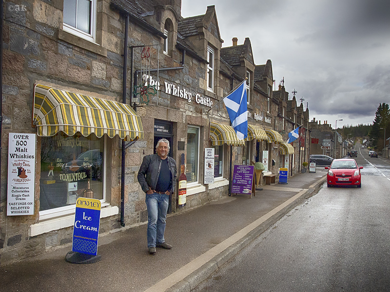 Wiskey store in Scotland