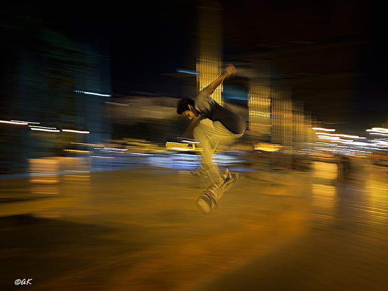 Jumping at Malaga