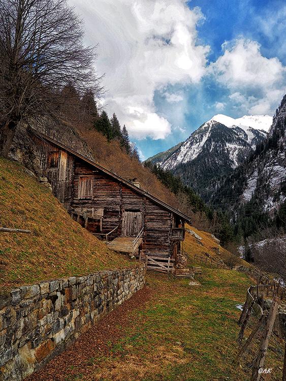 Farm at the Alps