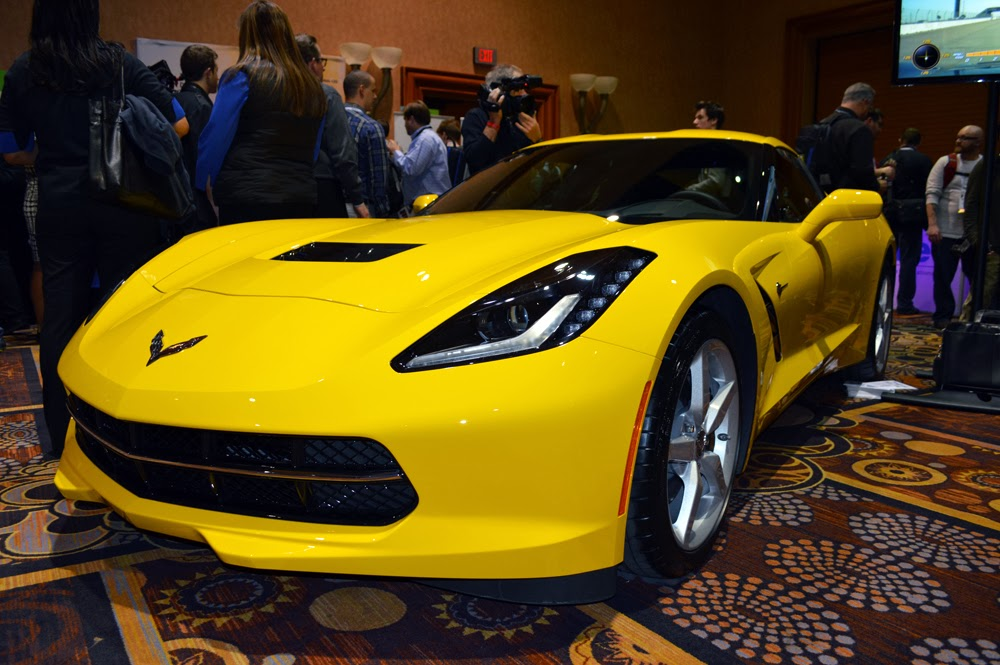 Priority #3: Sexy Corvette