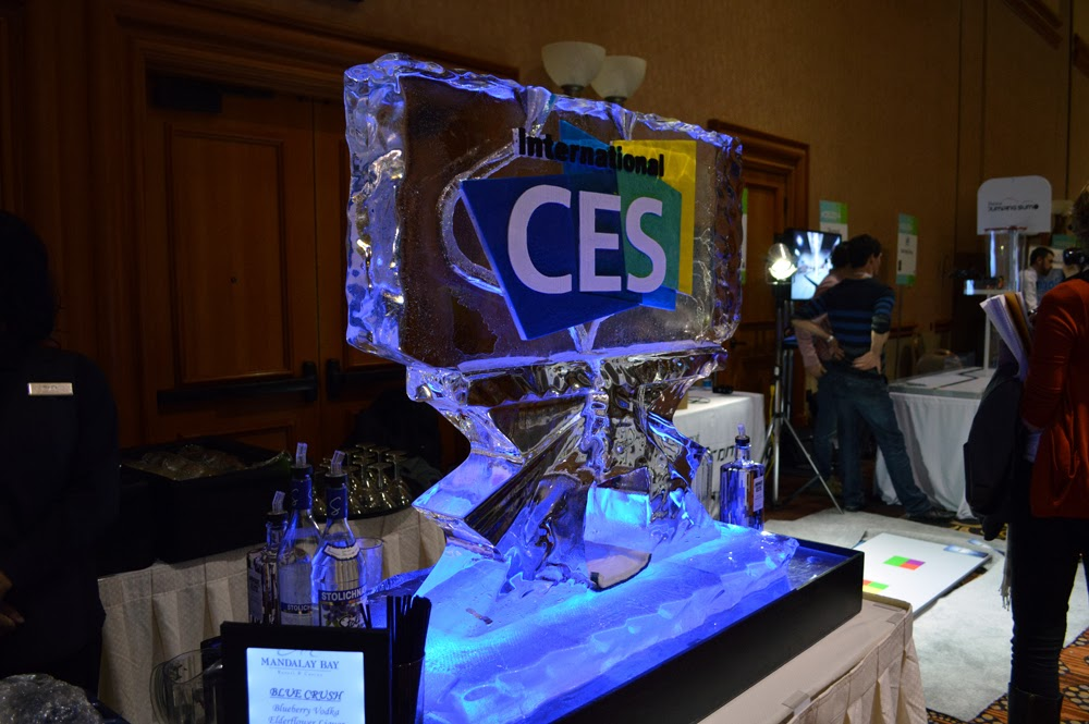No CES: Unveiled is a party without an ice luge. Obvz.