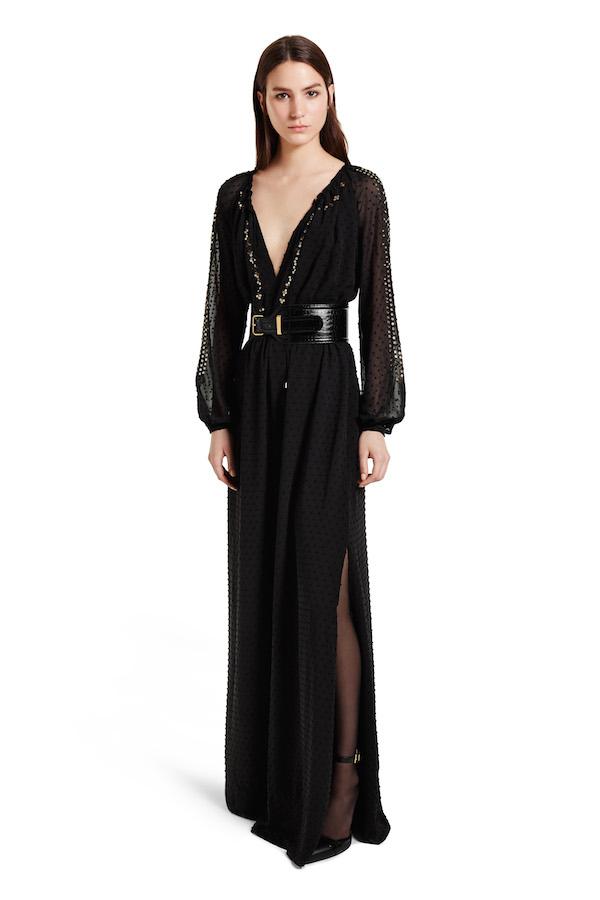 Swiss Dot Maxi Dress, $80