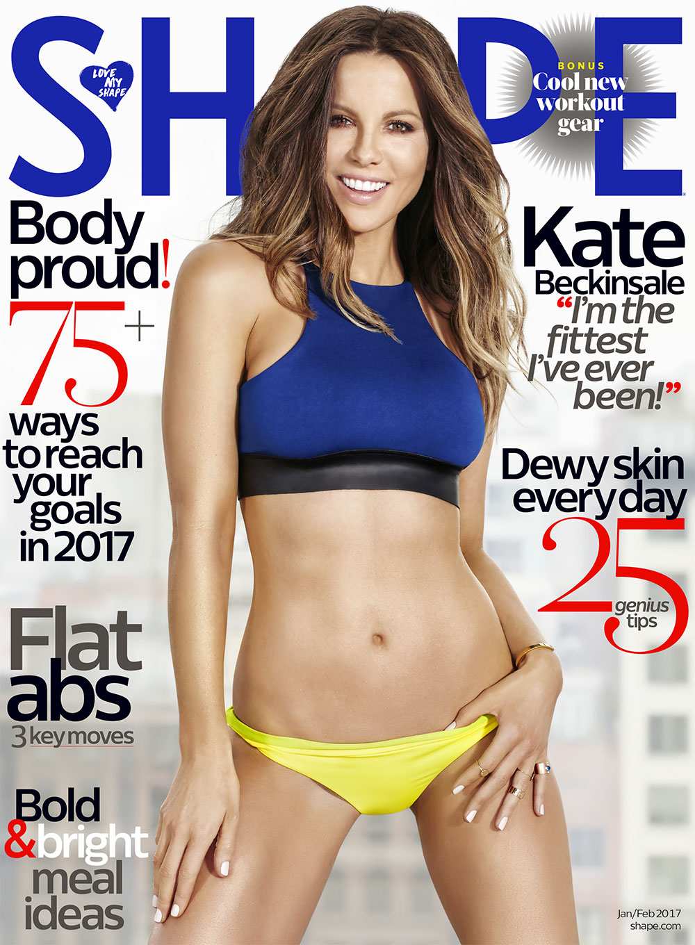 SHAPE - SHAPE is a women's health, fitness, and lifestyle magazine that promotes healthy living over
