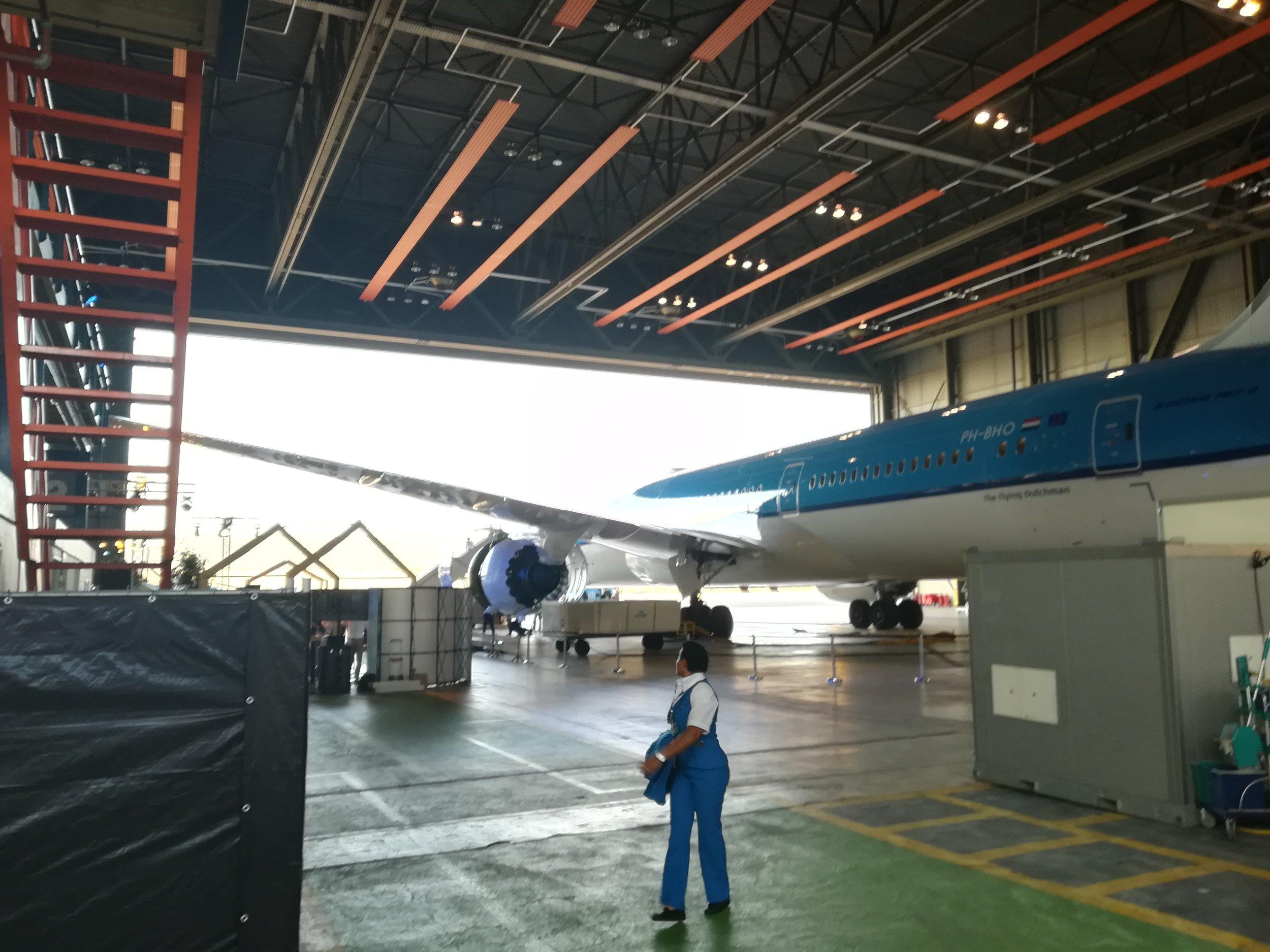 Dag Boeing! Fijne vlucht!