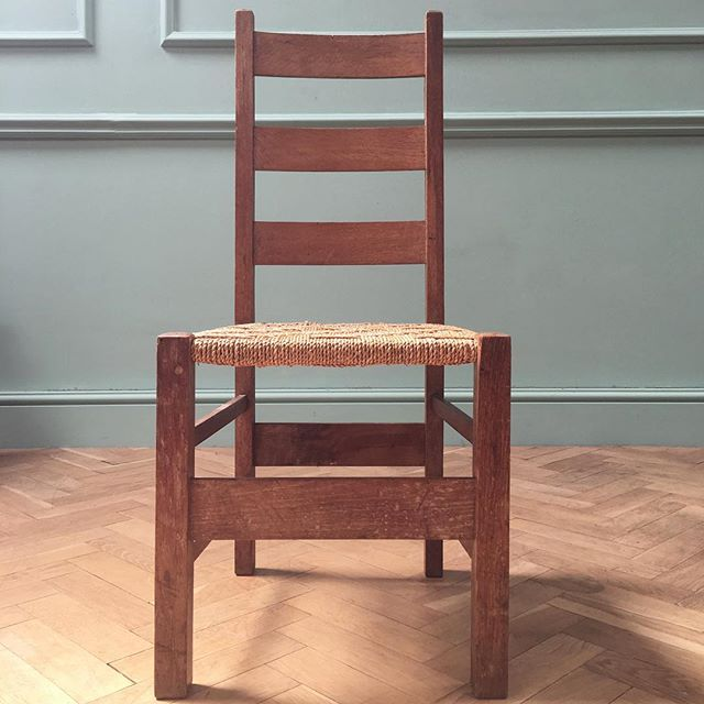 A Child's Letchworth oak chair by Heals #newstock
