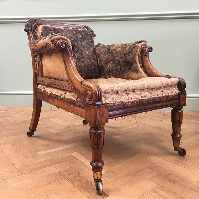 A Fine William IV deep seated armchair #newstock