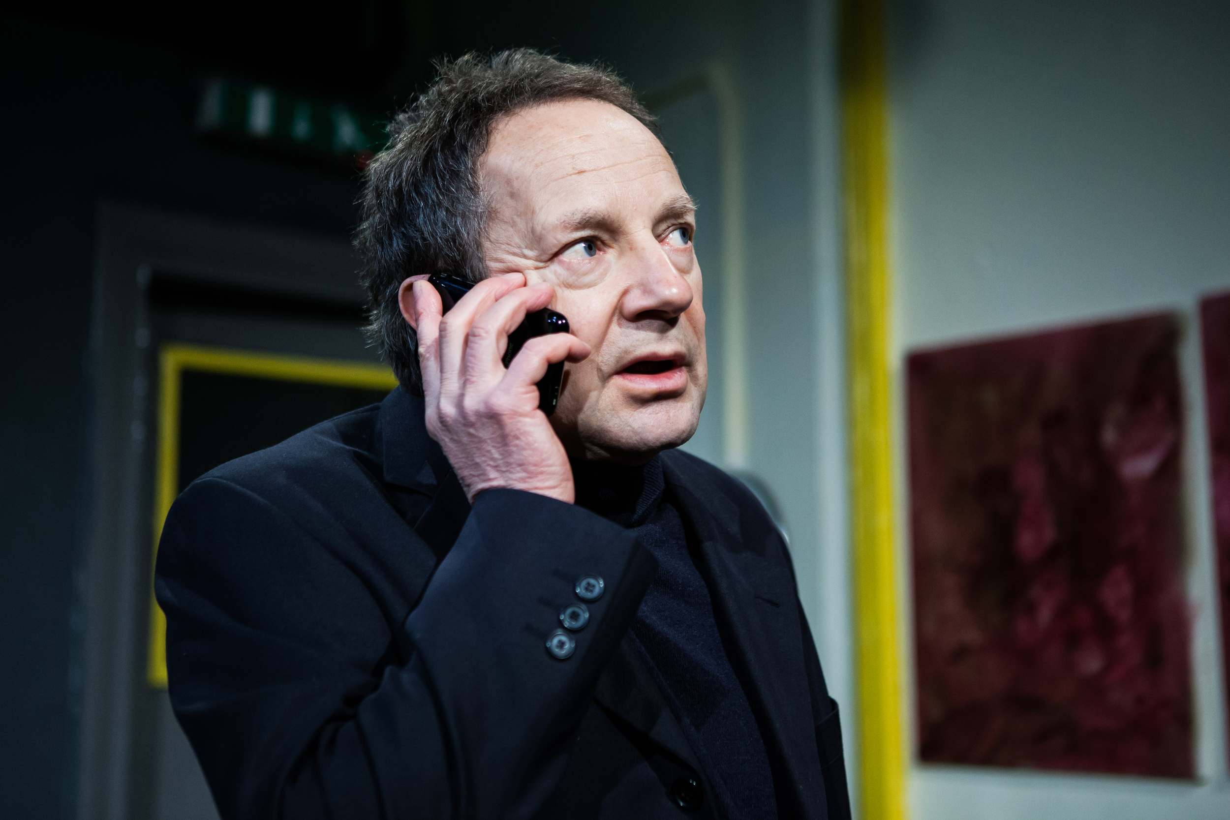 Michael Kirk as Richard in Everyday Maps for Everyday Use. Photo by Richard Davenport.