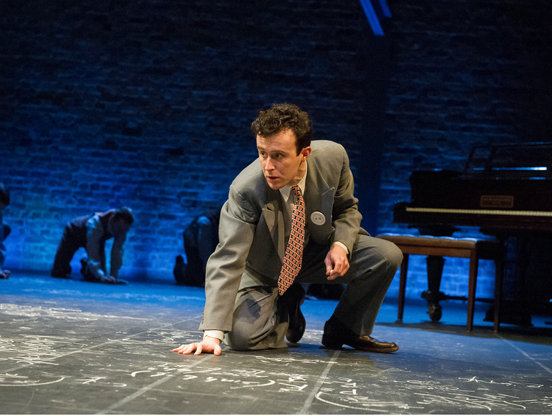 John Heffernan as J Robert Oppenheimer / photo by Keith Pattison / RSC 2015