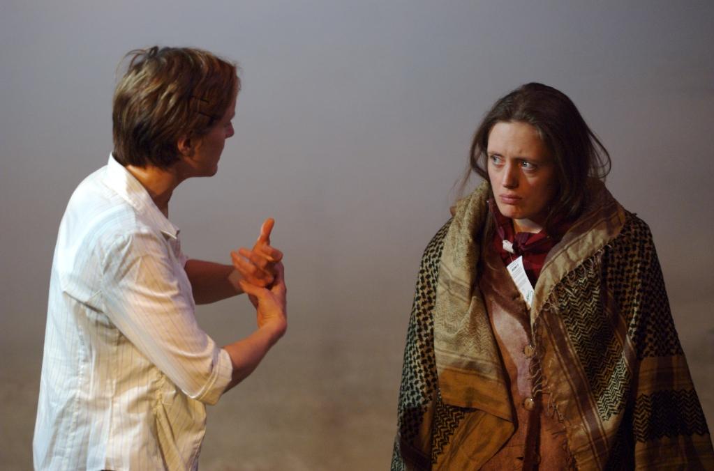 Catherine Cusack and Rebecca O'Mara / photo by Jack Ladenburg
