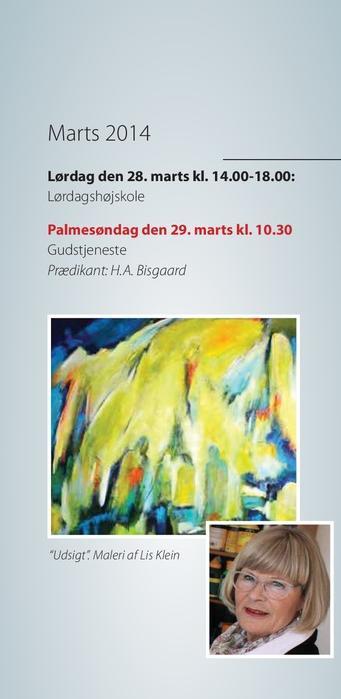 Udsnit fra Tornbjerg Kirkeblad