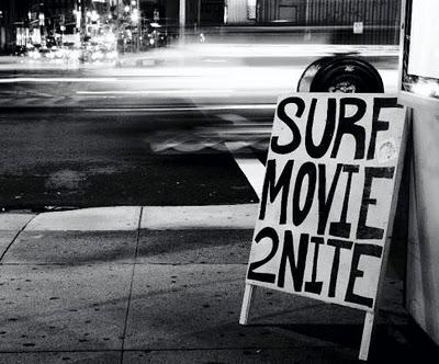 Come together. Een reeks van avondvullende evenementen vol met de meest recente surffilms en swingende muziek.