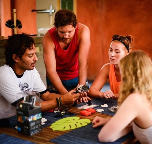 Workshops met de nieuwste camera's en uiteenlopende filmmakers.