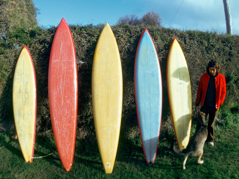 I Am Surf Film Festival-Maurice Cole The First Wave-Early Maurice Cole Surfboards Quiver.jpg