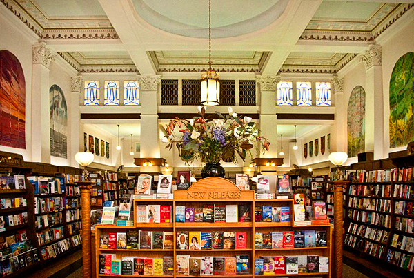 One of our favourites: Munro's Books, Victoria, BC (photo ©Wayne Templeton)