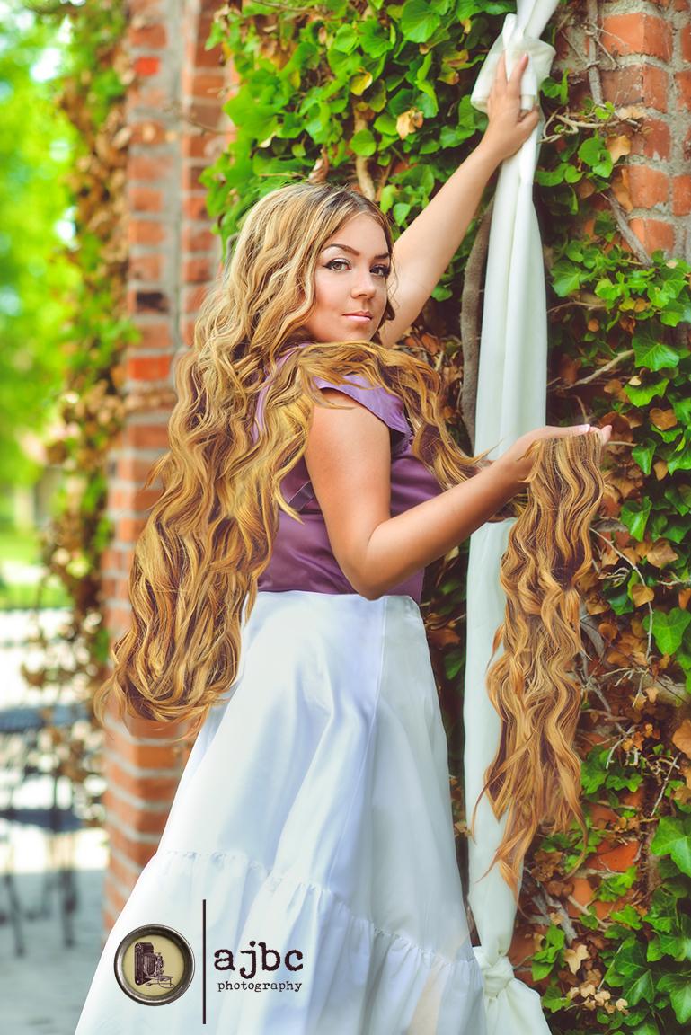 Rapunzel port huron michigan photographer fairytale