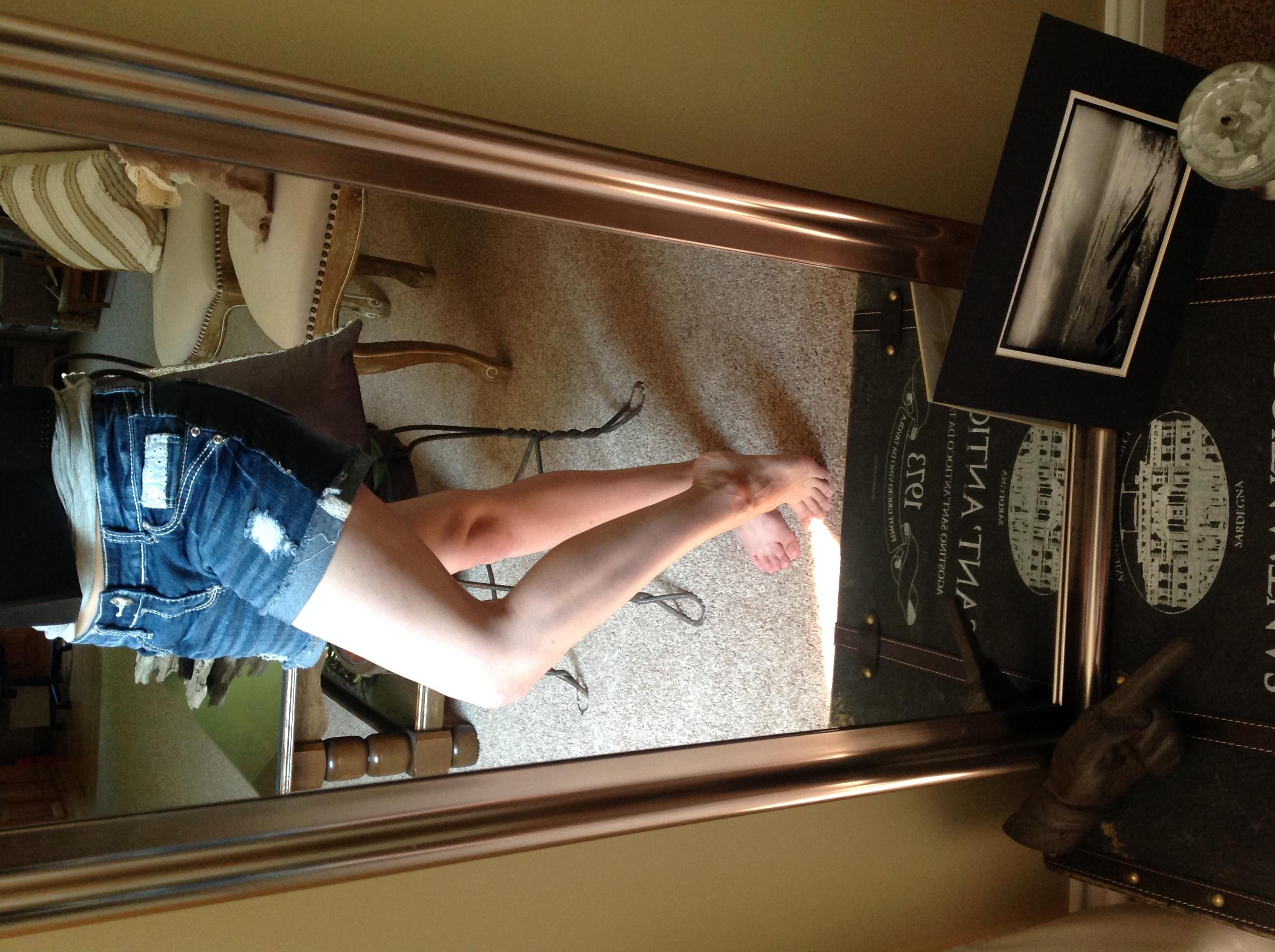 AJBC Photography jean shorts summer confidence women