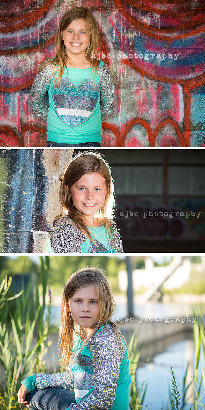 AJBC Photography girl Port Huron Michigan Photographer graffiti creative portraits