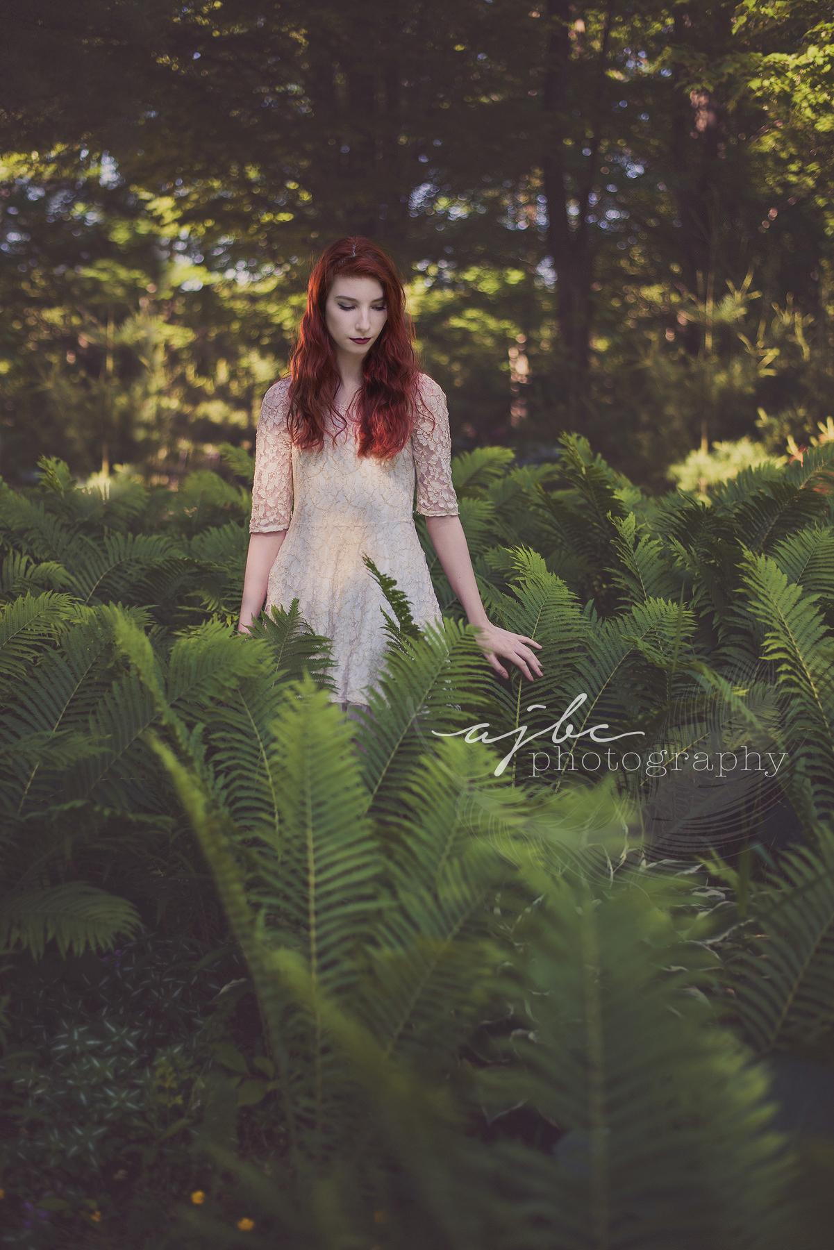 AJBC Photography Fine Art Port Huron Beauty Photographer outdoors ferns.jpg