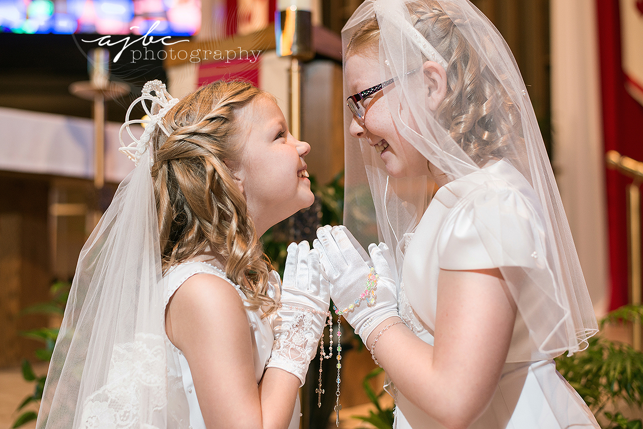 sisters first communion photos port huron michigan.jpg