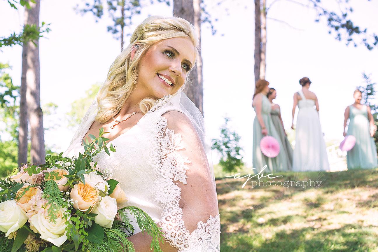 gorgeous bride outdoor michigan wedding.jpg