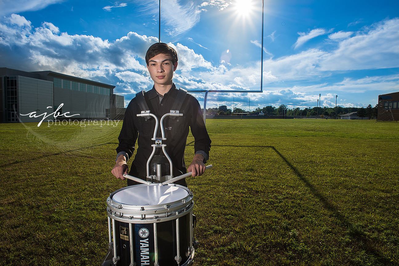 port huron michigan high school senior photos drummer boy.jpg